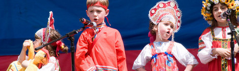 The 3rd Children's Festival of Russian Culture in the Park