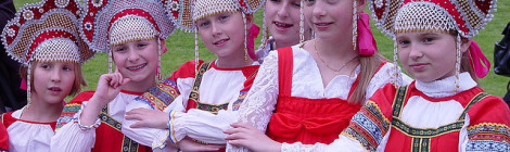 1st Children's Festival of Russian Culture in Fort Tryon Park