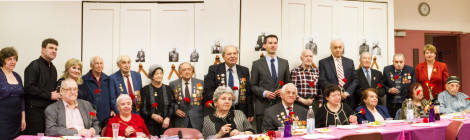 We Congratulate Veterans of WWII